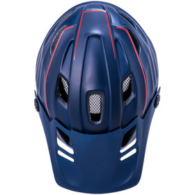 Kali Maya 2.0 Casco, matte navy/red